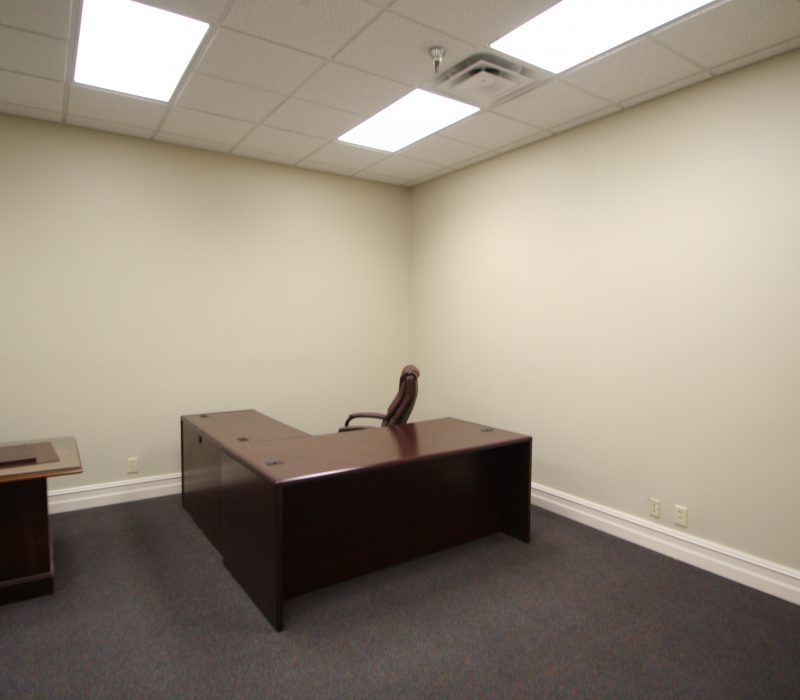 Office conjoining conference room