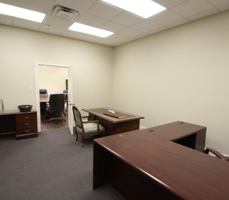 Office conjoining conference room 3